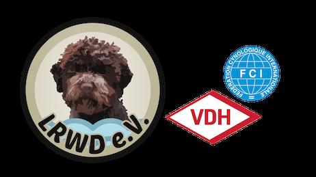 Logo mit VDH FCI